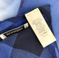 Burberry Check pattern Square scarf 100% silk Image 3