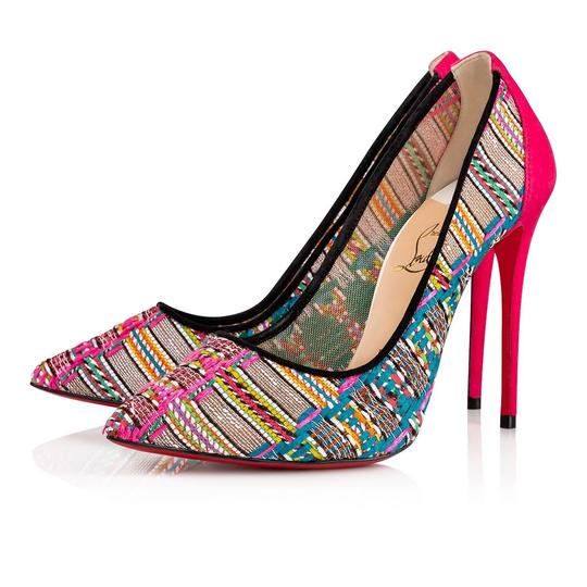 Preload https://img-static.tradesy.com/item/25567859/christian-louboutin-black-follies-lace-100-pink-suede-hippie-tweed-mesh-stiletto-classic-heel-pumps-0-0-540-540.jpg