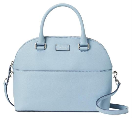 Kate Spade Crossbody Leather Satchel in Blue Dawn Image 5