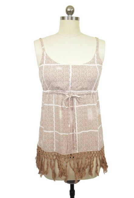 Item - Brown Cabana Coverup Style #846 Small Blouse Size 4 (S)