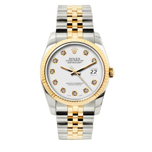 ROLEX 26MM Ladies Datejust Gold S/S with Appraisal