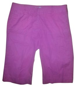 J.Crew Cotton Chino Bermuda Shorts Hot Pink