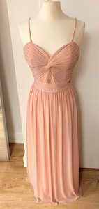 Watters & Watters Bridal Peach Style 095421 Traditional Bridesmaid/Mob Dress Size 12 (L)