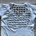 Chaser White Cut-out Trend T Shirt Image 3