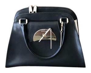 Cromia Satchel in Black and White