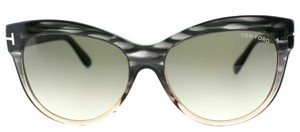 Tom Ford Tom Ford Sunglasses Lilly TF 430 20P TF430 Green Gradient Lens
