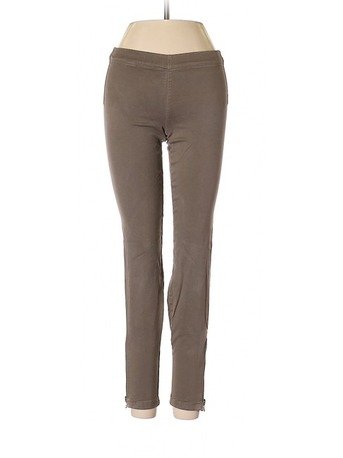 Item - Taupe Gray/Brown Low Rise Zippered Ankle Jeggings Size 24 (0, XS)