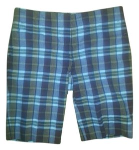J.Crew Wool Bermuda Shorts Plaid