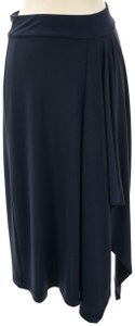 Michael Kors Midi Skirt blue navy