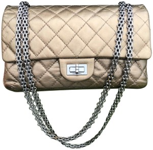 Chanel Pewter Rocker Rock Shoulder Bag