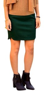 J.Crew Mini Skirt Emerald green