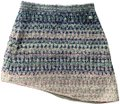 Chanel Mini Skirt Pink,Blue,Silver Image 0