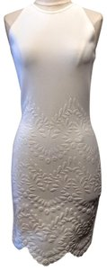 Alexander McQueen short dress White Embossed Summer Musthave Chic on Tradesy