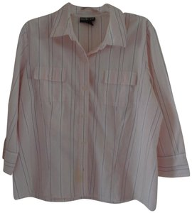 Style & Co Button Down Shirt Pink