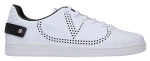 Valentino Sneakers Leather Sneakers White Athletic