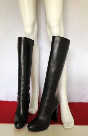Christian Louboutin Thigh High Ankle Over The Knee Heel Black Boots Image 8