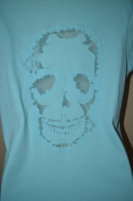 Zadig & Voltaire T Shirt Blue Image 4