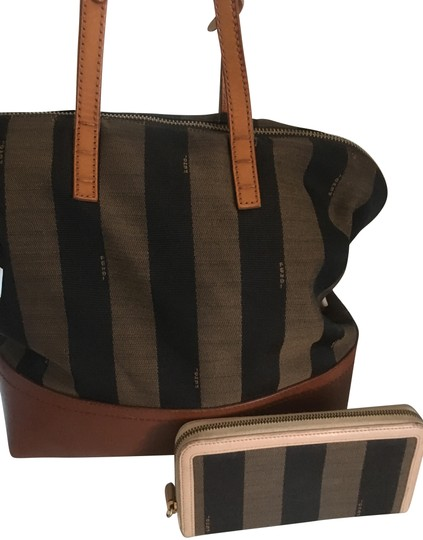 Preload https://img-static.tradesy.com/item/25569752/fendi-stripe-pequin-jacquard-handle-with-matching-wallent-multi-colors-brown-tan-and-nude-canvas-lea-0-6-540-540.jpg