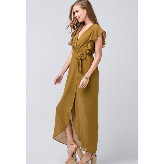 olive Maxi Dress by entro Image 1