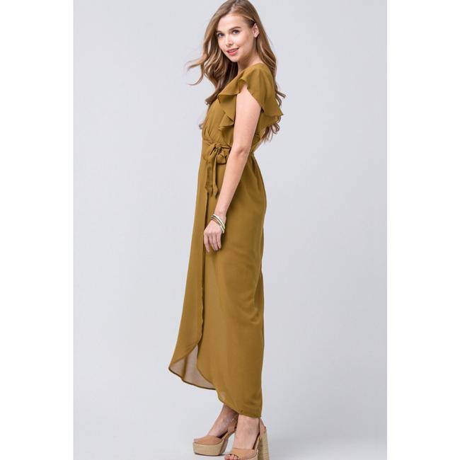 olive Maxi Dress by entro Image 2
