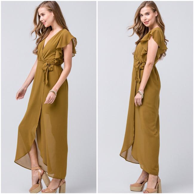 olive Maxi Dress by entro Image 4
