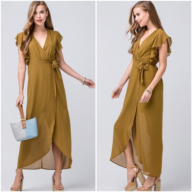 olive Maxi Dress by entro Image 7