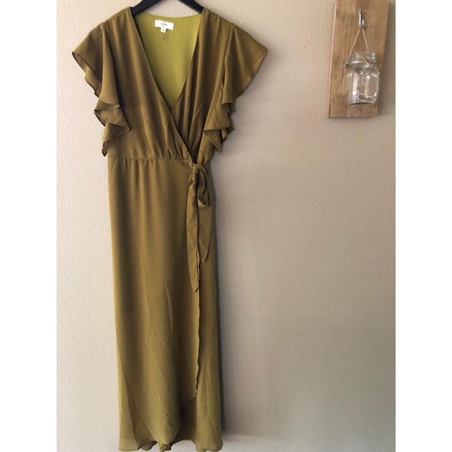 olive Maxi Dress by entro Image 8
