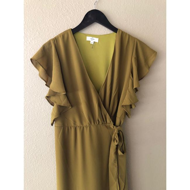 olive Maxi Dress by entro Image 9