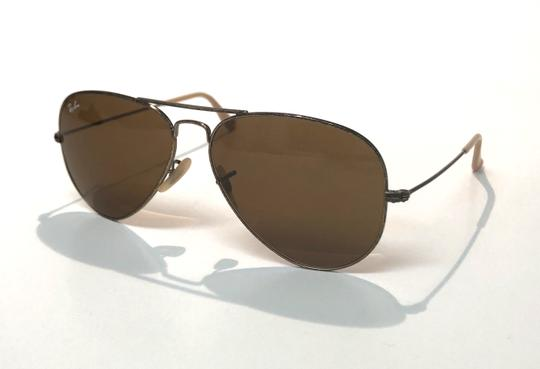 Ray-Ban Vintage Manufacture Distressed Aviator RB 3025 Free 3 Day Shipping Image 10