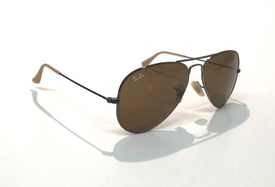 Ray-Ban Vintage Manufacture Distressed Aviator RB 3025 Free 3 Day Shipping Image 2