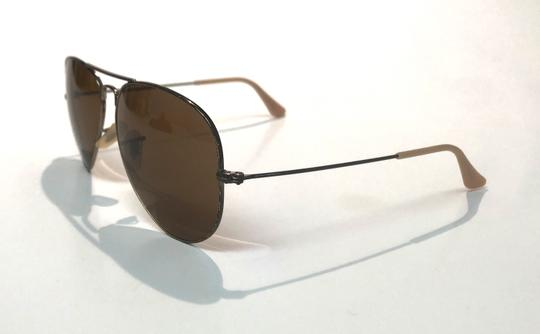 Ray-Ban Vintage Manufacture Distressed Aviator RB 3025 Free 3 Day Shipping Image 8