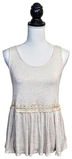 Preload https://img-static.tradesy.com/item/25569817/anthropologie-ivory-cream-pins-needles-tank-topcami-size-8-m-0-1-650-650.jpg