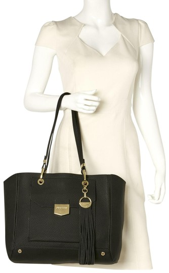 Preload https://img-static.tradesy.com/item/25569870/steve-madden-clutch-bpines-and-black-gold-suede-leather-tote-0-1-540-540.jpg