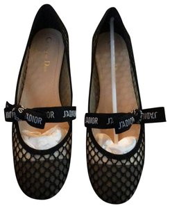 9821dfd94 Dior Black Christian and White Oxford Flats Size EU 40 (Approx. US ...