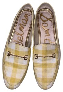 Sam Edelman white yellow Flats
