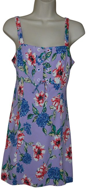 Preload https://img-static.tradesy.com/item/25569992/parker-purple-floral-strappy-mid-length-short-casual-dress-size-4-s-0-1-650-650.jpg