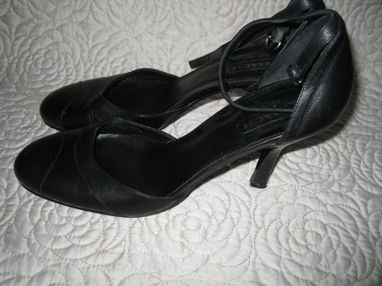 Coach Black and Navy Blue Pumps Image 3