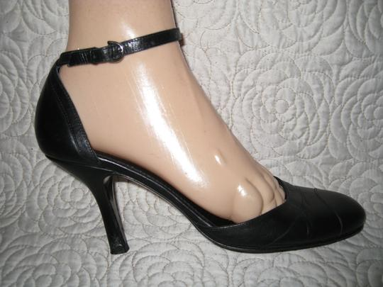 Coach Black and Navy Blue Pumps Image 5
