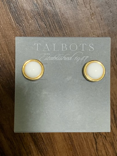 Talbots Talbots cabochon Earring Image 7