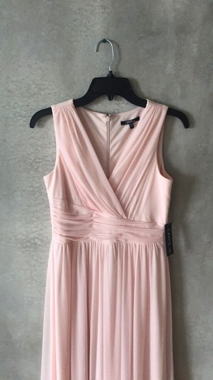 Onyx Nite Pink/Blush Chiffon Formal Bridesmaid/Mob Dress Size 2 (XS) Image 2