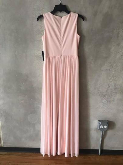 Onyx Nite Pink/Blush Chiffon Formal Bridesmaid/Mob Dress Size 2 (XS) Image 3