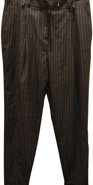 Preload https://img-static.tradesy.com/item/25570189/charcoal-grey-white-42-made-in-italy-striped-cuffed-pants-size-8-m-29-30-0-1-650-650.jpg
