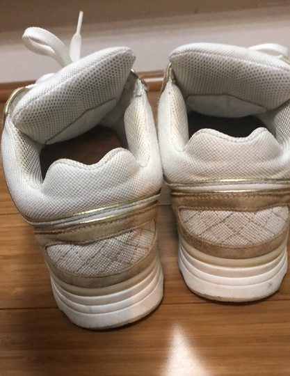 Chanel white and gold Athletic Image 3