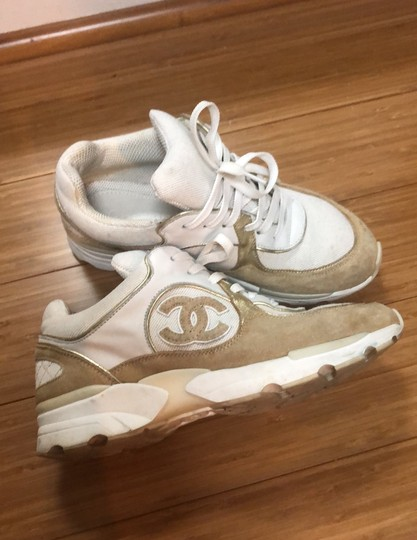 Chanel white and gold Athletic Image 7