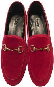 Gucci Red / Hibiscus Red Flats