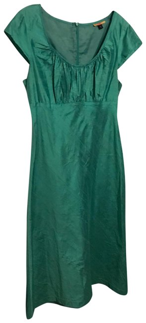 Preload https://img-static.tradesy.com/item/25570357/green-a-line-mid-length-cocktail-dress-size-12-l-0-1-650-650.jpg