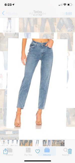 Free People Relaxed Fit Jeans Image 1