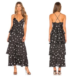 Midnight Maxi Dress by Bardot Floral Revolve Style Sale