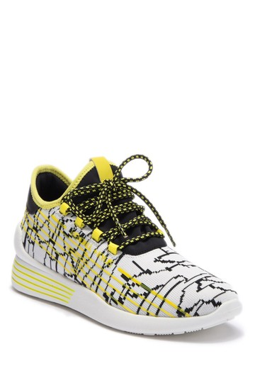 Kendall + Kylie white/Yellow/Black Athletic Image 0