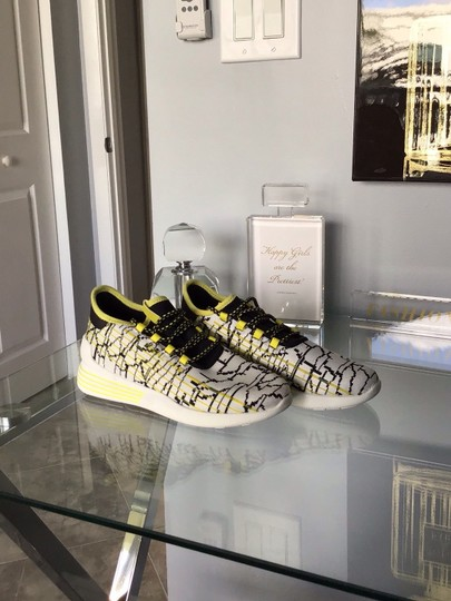 Kendall + Kylie white/Yellow/Black Athletic Image 1